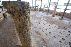 Colums in Madaba // Trip to Jordan