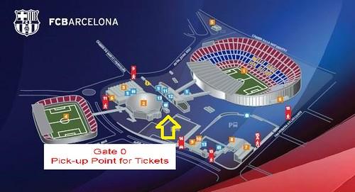 Come ritirare i biglietti per Barcellona