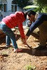 Core Child Teach Haithem leads his class in a garden planting activity.
