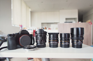 Current Sony A7 & Leica M family
