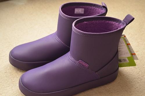クロックス 2014年 ショートブーツ crocs colorlite boot w