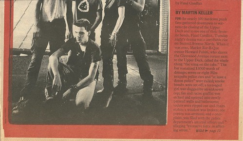 "09/07/83 City Pages ""The Wild Ones"" (2/8)"