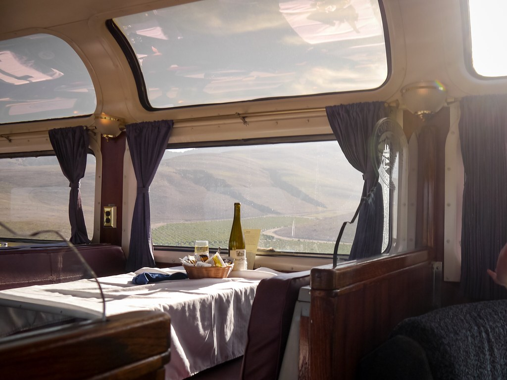 Pacific Parlour Car on northbound Coast Starlight Train 14
