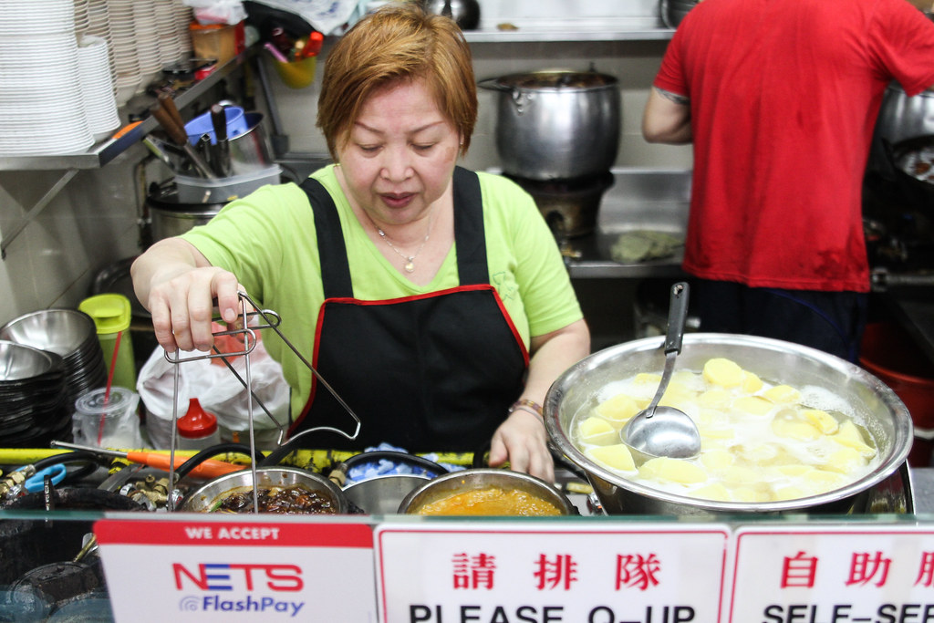 Clementi 448 Market & Food Centre: Soon Huat Cooked Food