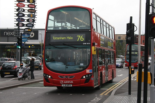 Arriva London DW410 on Route 76, Tottenham Hale Bus Station