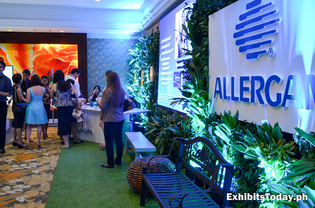 Allergan Exhibit Booth