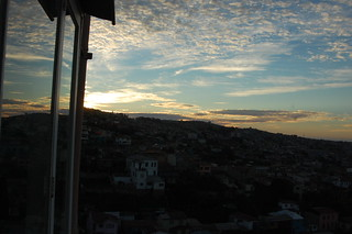 Sunset from La Sebastiana, Pablo Neruda's House in Valparaíso