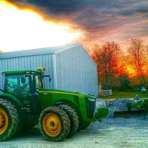#Farmlife #tractor
