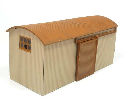 Painted hut