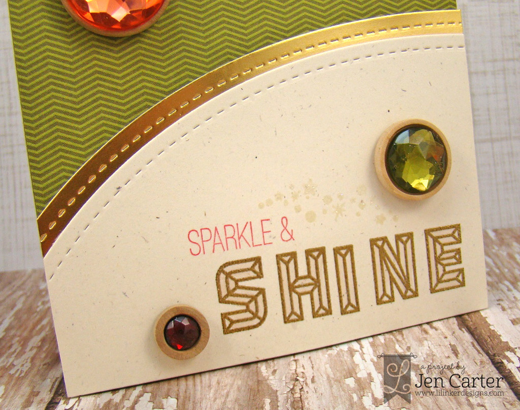 Jen Carter LID Sparkle & Shine Gems closeup