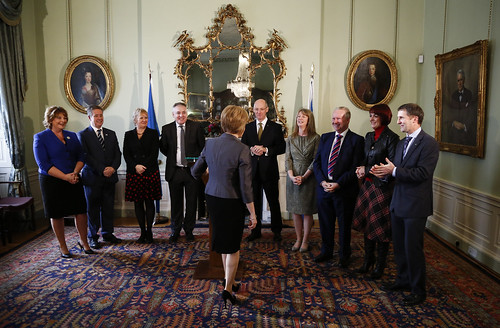 First Minister and new Cabinet