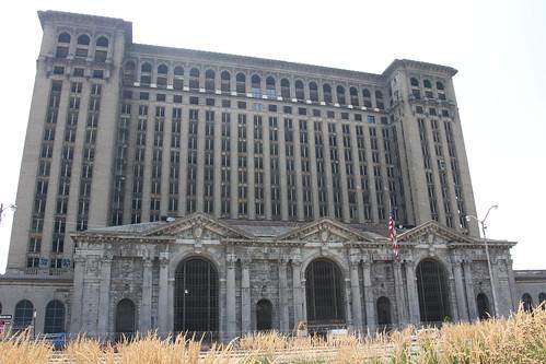 Abandonned train station, Detroit