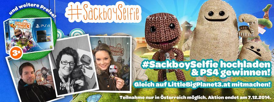#SackboySelfie CTA