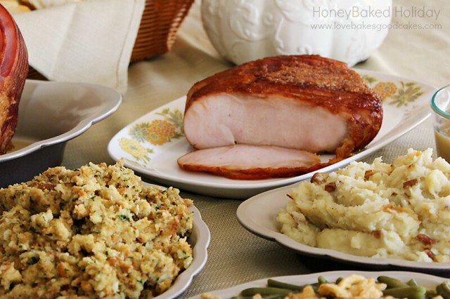 For a simple and delicious Thanksgiving dinner, have a #HoneyBakedHoliday - Enter to win $500 in gift cards for holiday shopping! #ad