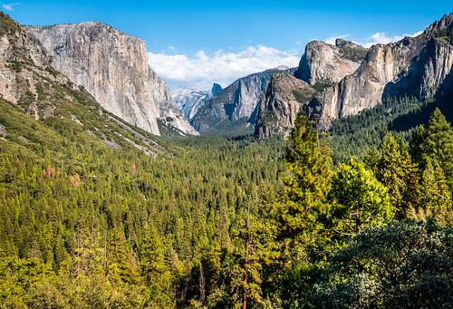 Tunnel View Yosemite Valley