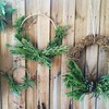 Beautiful handmade wreaths by the lovely ladies :herb::blush: #ChristmasCraft #foraging #wreath