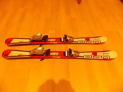 dětské carvingové lyže Elan Race Pro 100 cm s vázá - titulní fotka