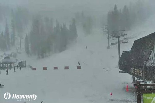 Heavenly gets fresh snow