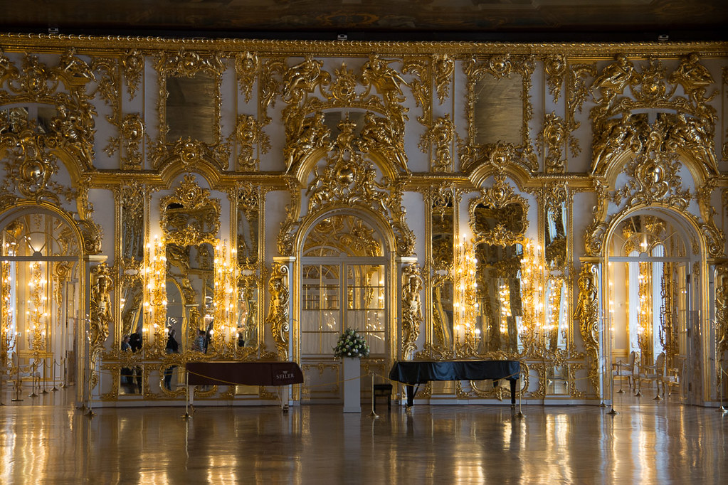 Ballroom at Catherine Palace