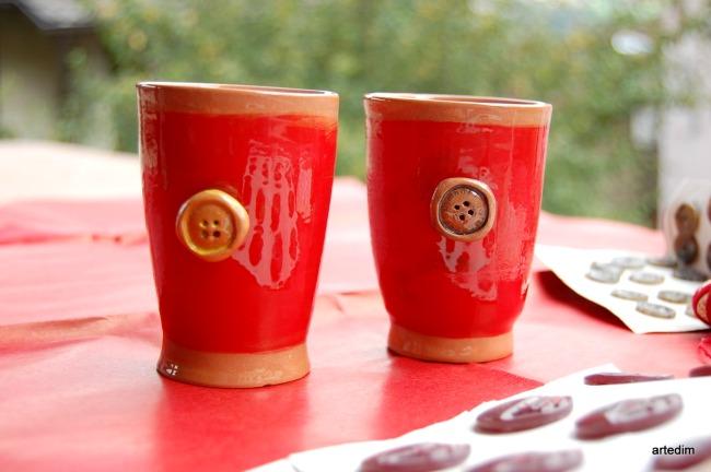 tazze da te di ceramica- regalo per natale