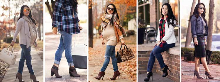 cute & little blog | petite fashion | fall winter ankle boots
