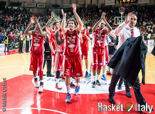 ariel filloy, paolo moretti, cj williams, langston hall, PALLACANESTRO VARESE vs PISTOIA