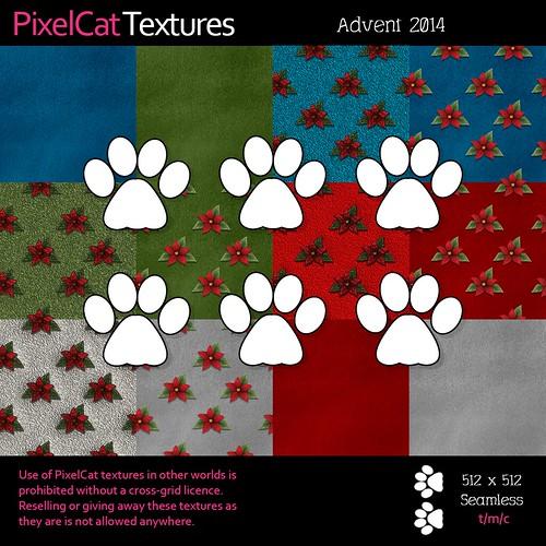 PixelCat Textures - Advent 2014