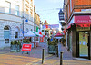 Italian Market In Church Street, Twickenham - Londom.
