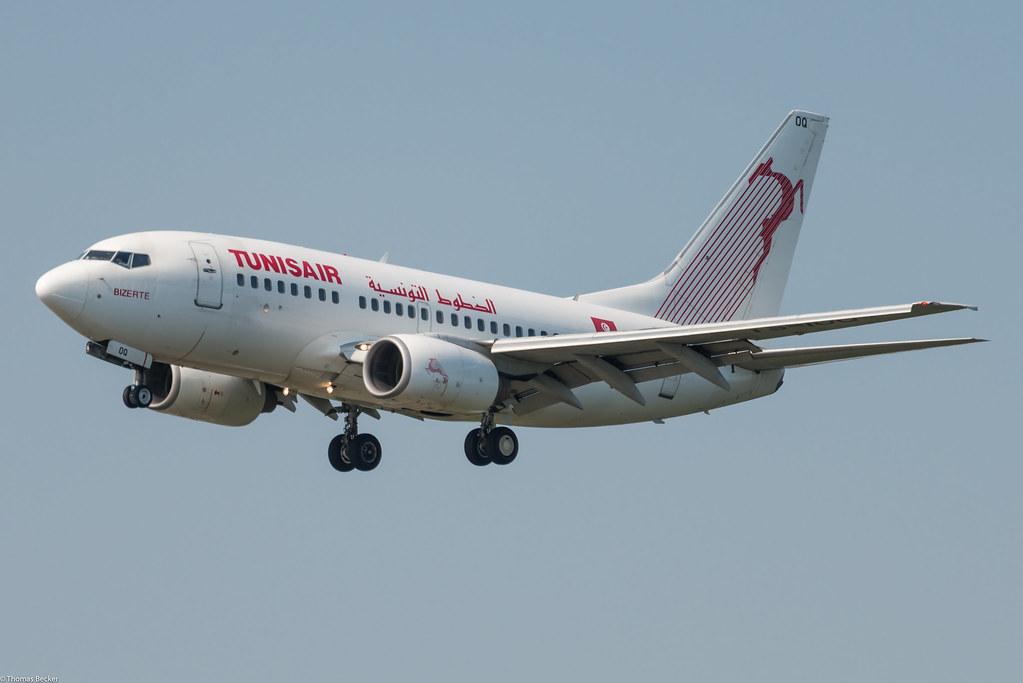Tunisair Boeing 737-6H3 TS-IOQ Bizerte (805442)