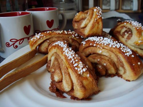 Finnish Cinnamon Buns, Korvapuusti