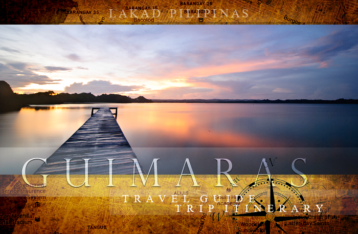 Guimaras Island Resorts Map