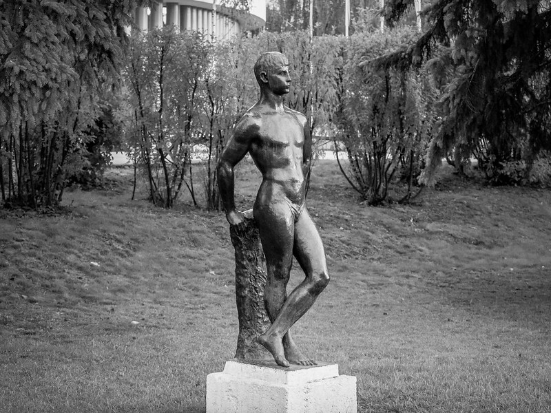 «The Swimmer» of Gorky Park