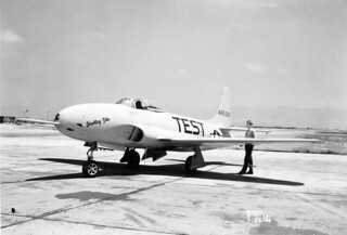 Lockheed P-80A Airplane