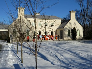 Anti-torture activists occupy Dick Cheney's lawn