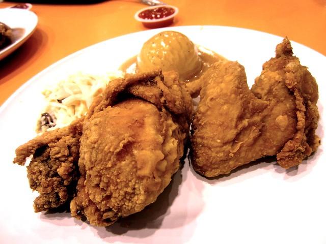 Sugar Bun broasted chicken