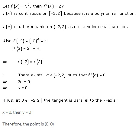 RD Sharma Class 12 Solutions Chapter 15 Mean Value Theorems Ex 15.1 Q8-i