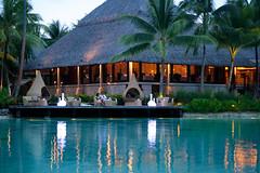 Le Corail deck - InterContinental Bora Bora Resort & Thalasso Spa