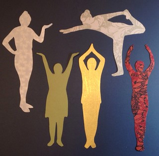 silhouette cutouts