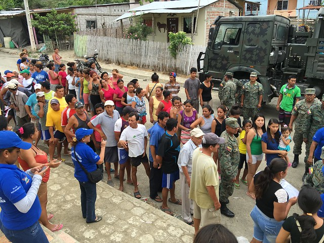 Aid Zone - Ecuador
