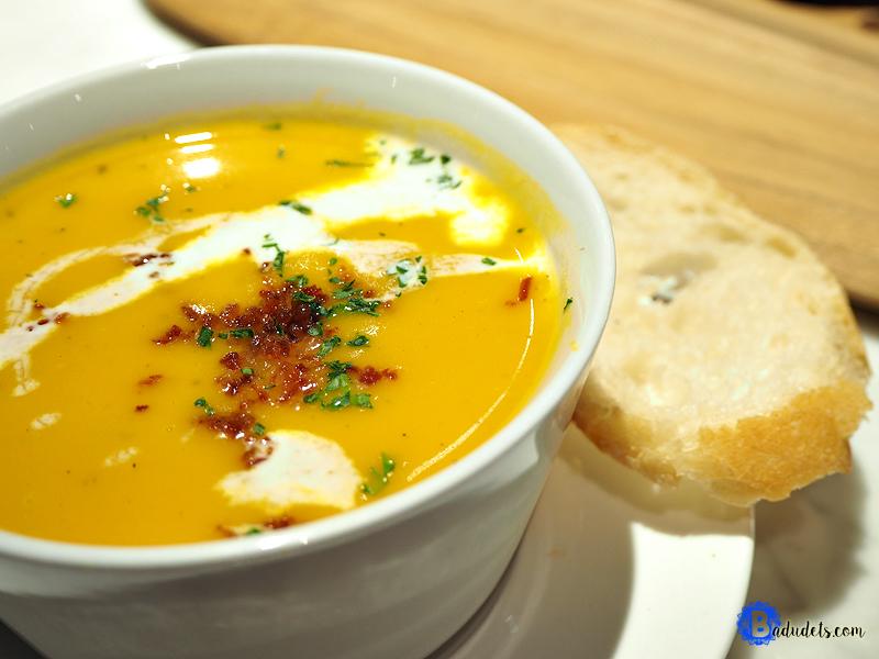 casa italia Pumpkin Soup