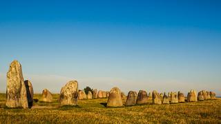 Image of Ales stenar. se urlaub schweden alesstenar kulturdenkmal skånelän