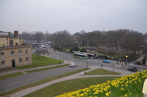 View from Clifford Tower York Mar 16 (1)