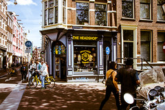 Headshop on the Corner , Amsterdam, Netherlands