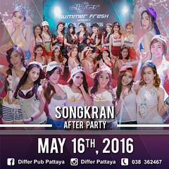 05-16-16 Differ Pub Pattaya Presents Songkran After Party