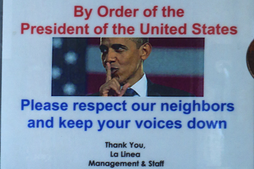 By Order of the President of the United States--East Village (detail)