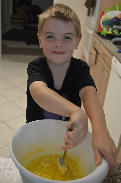Cooking - Dulce de Leche cake 1