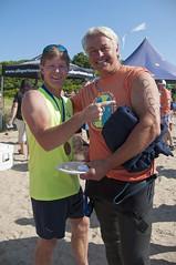 2016-06-25 Swim finish line AP (42) Tony Williams Dan Vasconcellos