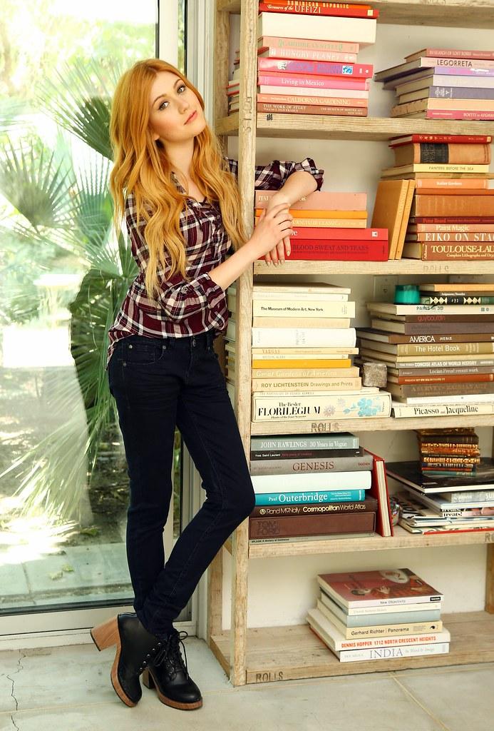Кэтрин МакНамара — Фотосессия для «Wallflower Jeans» 2016 – 14