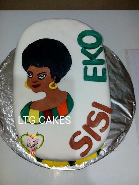 Sisi Eko 3D Themed Cake by Laide Tunde-Gafar