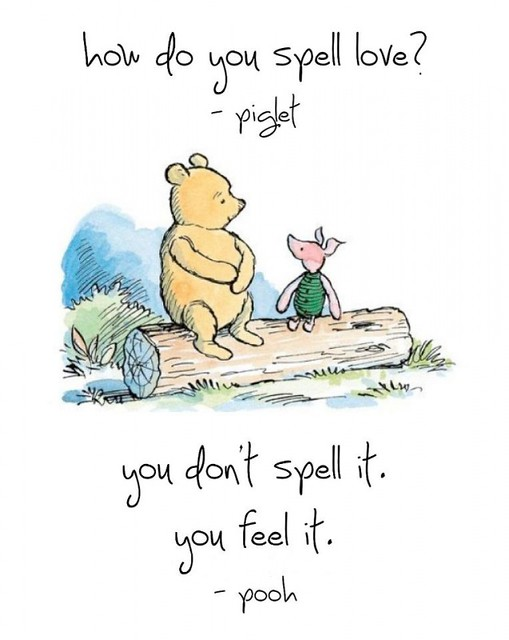 winnie-the-pooh-piglet-how-do-you-spell-love-Little-Delivery-Gifts-For-Children